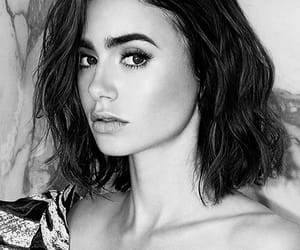 actress, black and white, and beautiful image