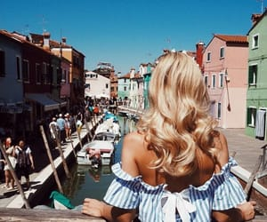 fashion, travel, and blonde image