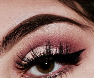beauty, eyeshadow, and pink image