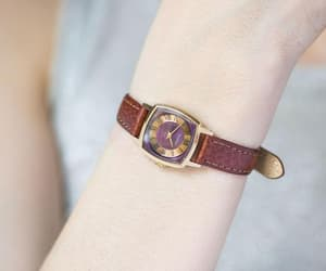 etsy, vintage women watch, and women watch gold image