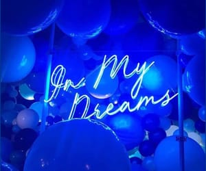 blue, in my dreams, and beautiful dreams image