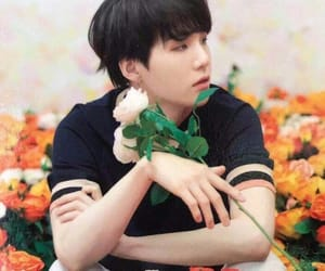 army, flowers, and suga image
