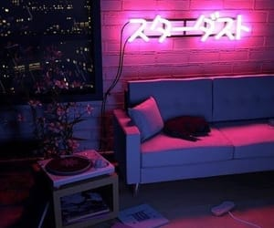 neon, light, and aesthetic image