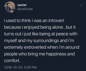 comfort, happiness, and introvert image