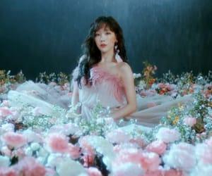 flowers, girl, and idol image