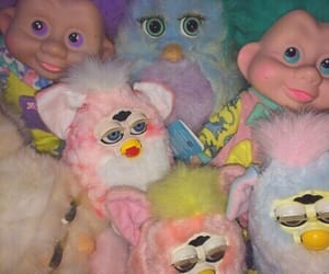 furby, aesthetic, and pink image
