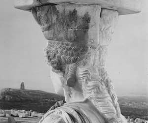 Athens, black and white, and love image