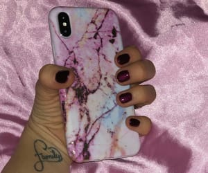 burgundy, pink, and iphonecase image