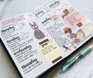 bujo, art, and journaling image