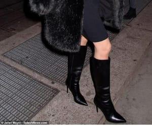 beauty, black on black, and fashion image