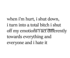 always, broken, and emotions image