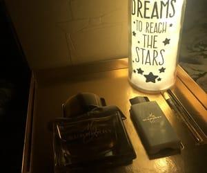 bottle, nails, and night image