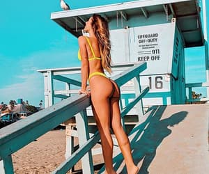 beauty, bikini, and body image