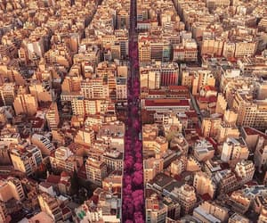 city, aerial photography, and aerial view image