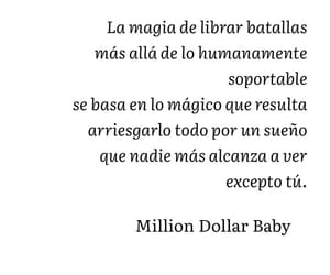 book, libro, and million dollar baby image