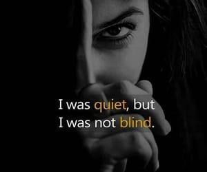 blind, broken, and fake image