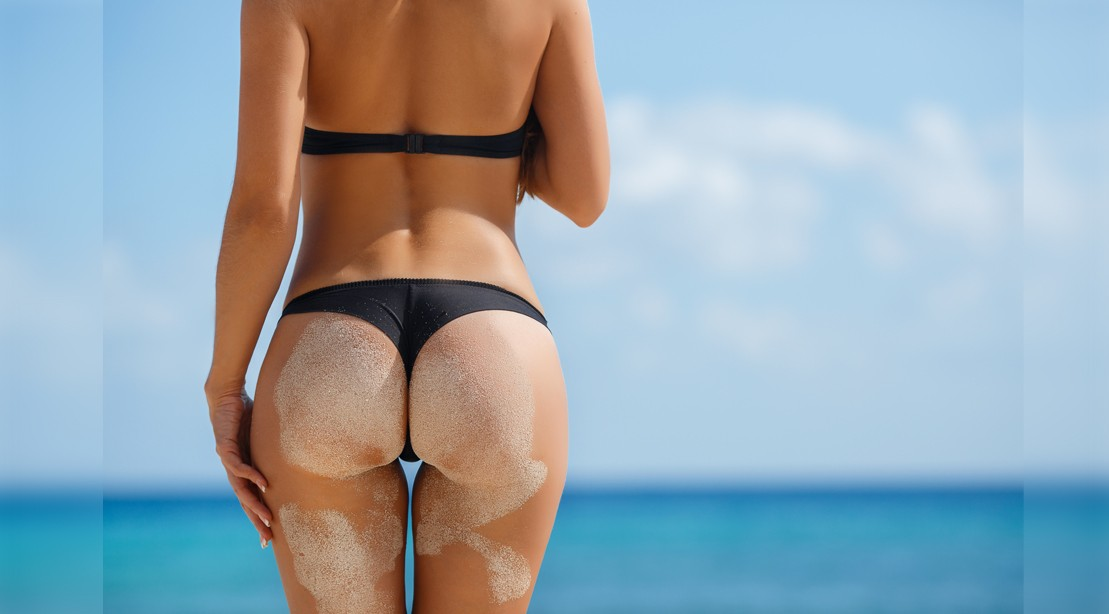 Girl with nice butt