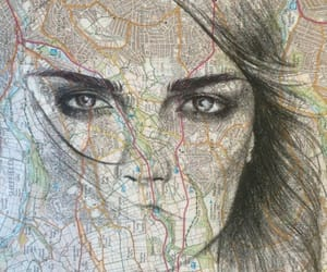 paper towns, cara delevingne, and book image