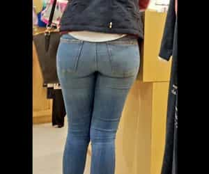 hot women in jeans image