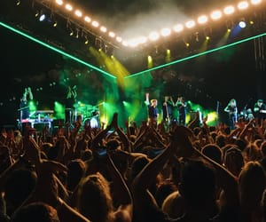 concert, crowd, and george ezra image