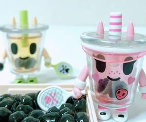 boba, boba tea, and bubble tea image