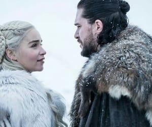 king, khaleesi, and Queen image