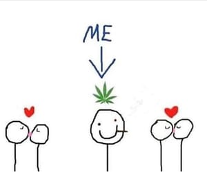 love, weed, and me image