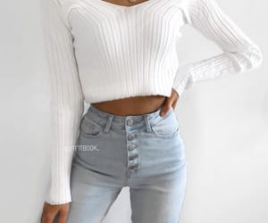 fashion, Hot, and jeans image