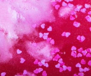 heart, lush, and pink image