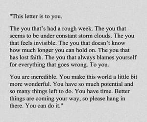 important, inspirational, and Letter image