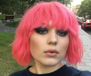 cabelo, colored hair, and fashion image