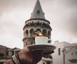 istanbul and coffee image