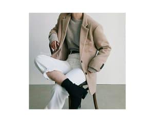 aesthetic, jacket, and kfashion image
