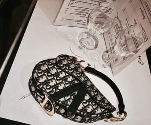 bag, chic, and dior image