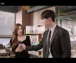 lee dong wook, yoo in na, and touch your heart image