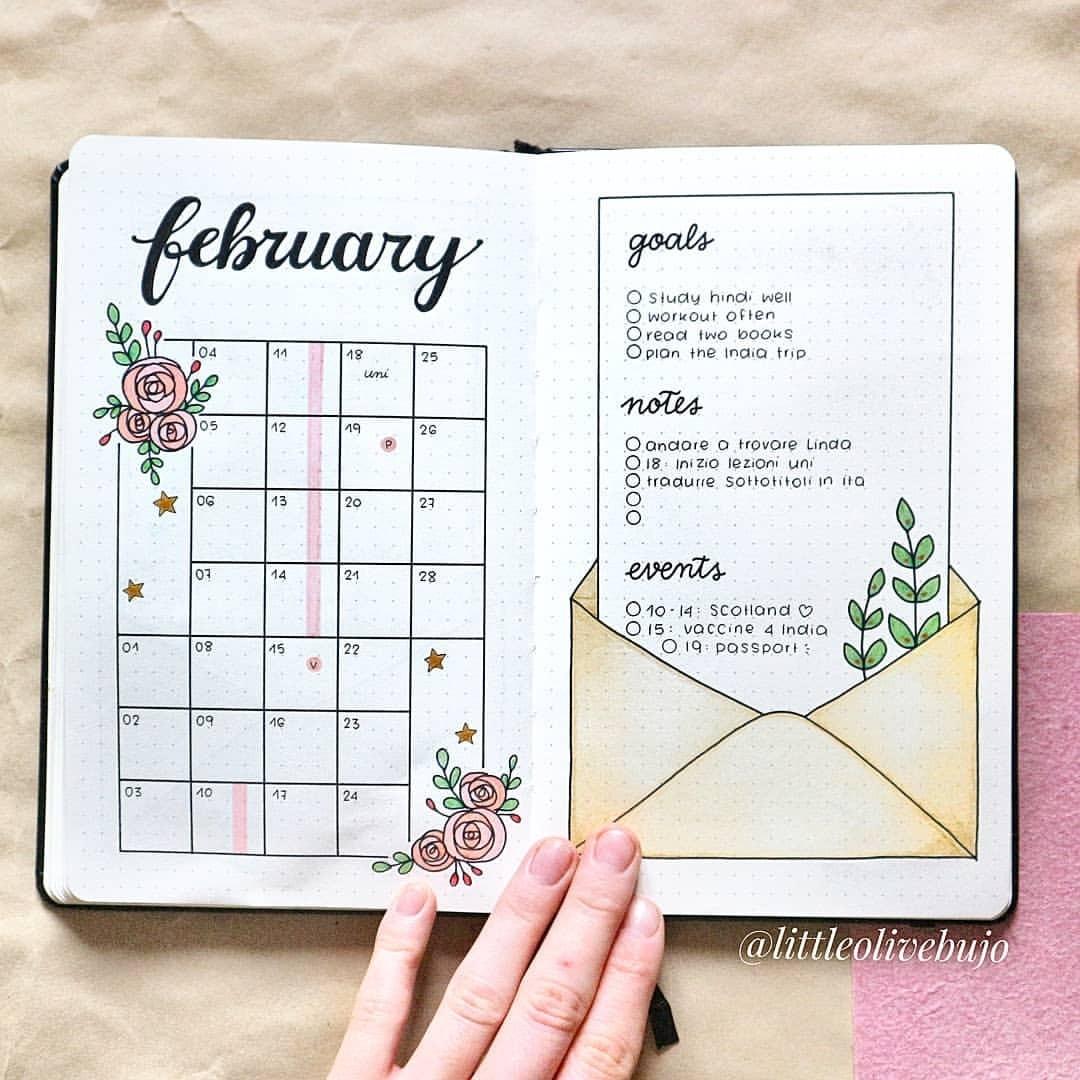 bujo, bullet journal, and planner image