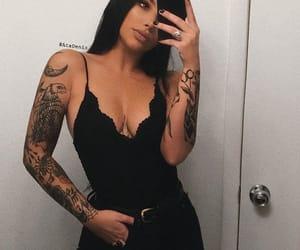 belt, bodysuit, and hair image