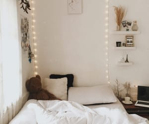 background, bedroom, and bedtime image
