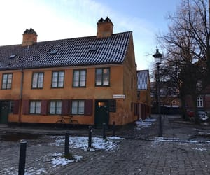 copenhagen, Houses, and winter image