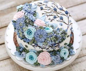 cake, decor, and delicious image