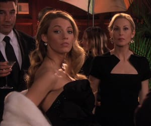 gossip girl and Serena Van Der Woodsen image