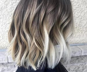 blond, brown, and hairdress image