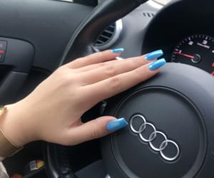 A3, audi, and blue image