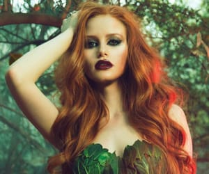 green, riverdale, and cheryl blossom image