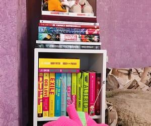 book, book nook, and book shelves image