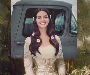 lana del rey, lust for life, and art image