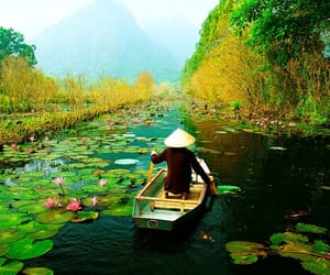 travel, water, and Vietnam image
