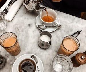 coffee, tea, and breakfast image