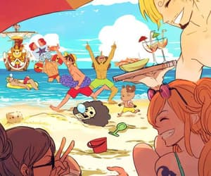 anime, one piece, and straw hats image