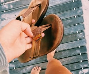 flip flops, vsco, and girl image